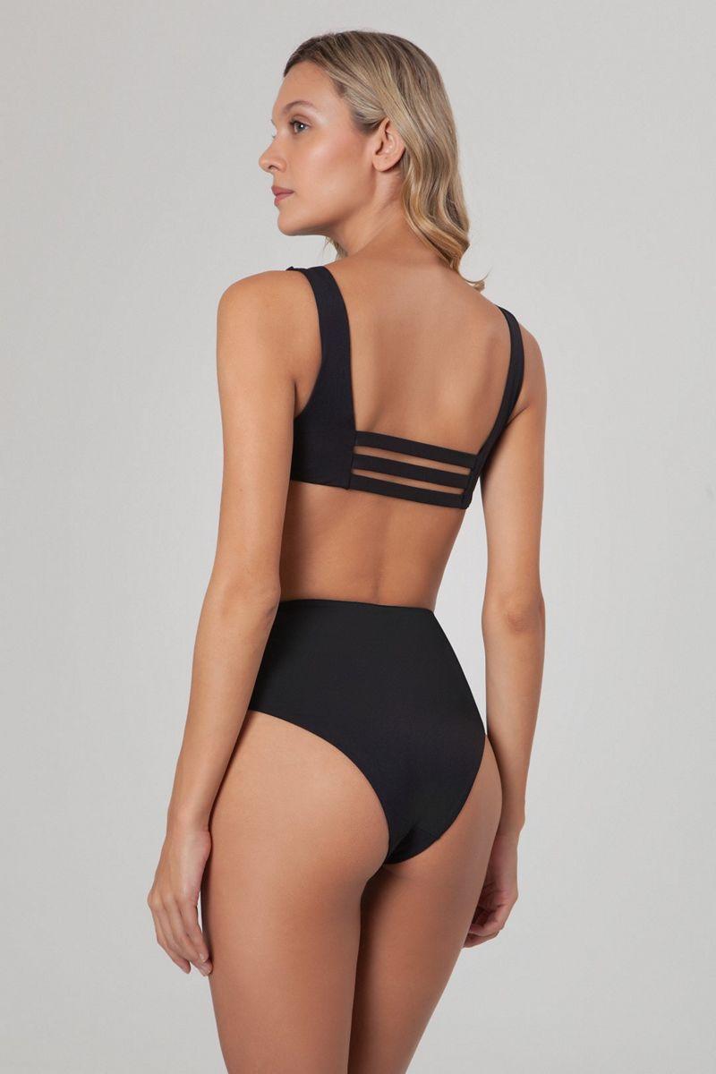 Agua Bendita Black Lily Bikini Bottom
