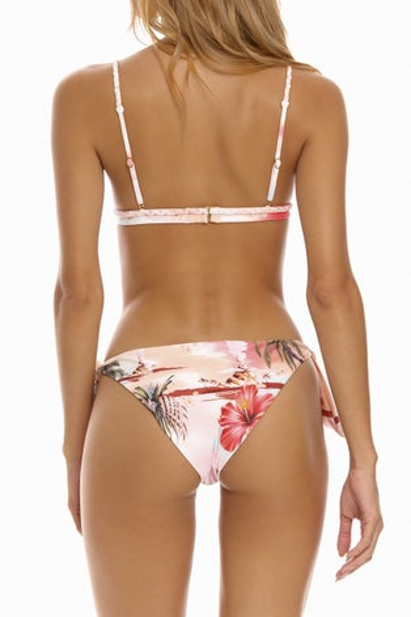Agua Bendita Luau Lisa Bikini Top