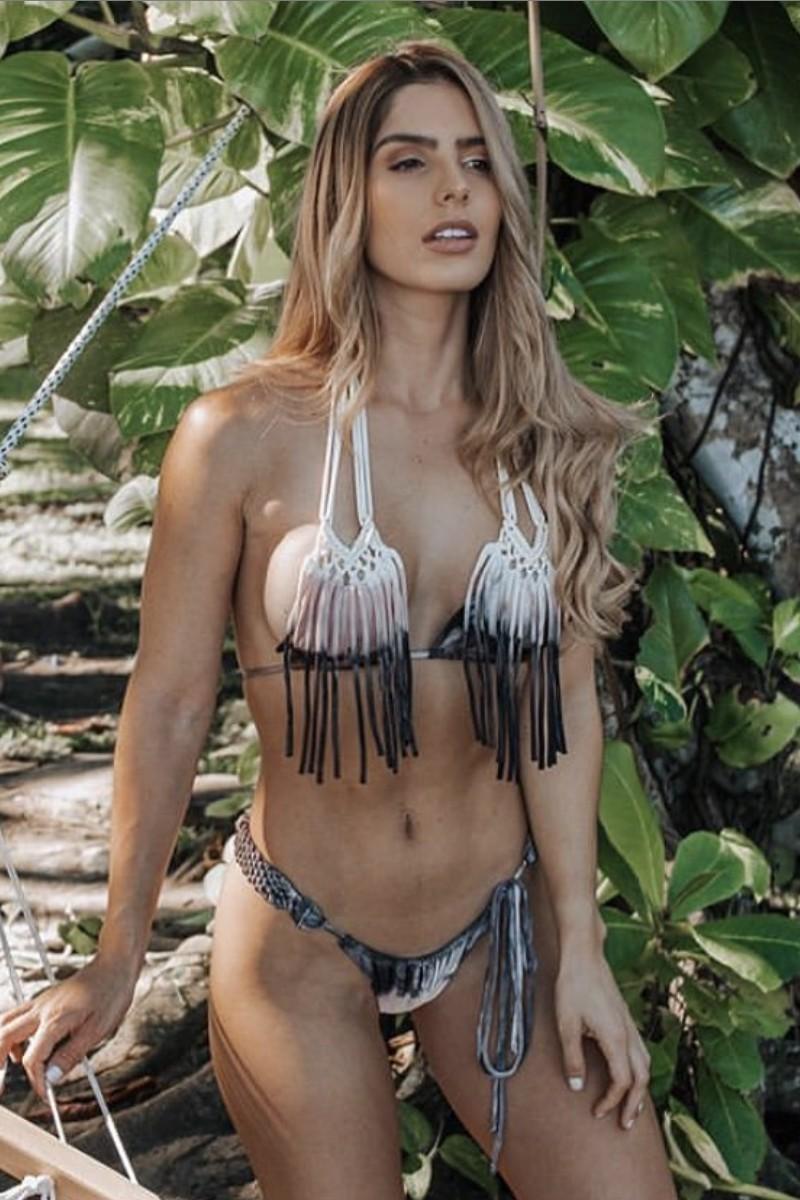 Entreaguas Lions Mane Triangle Bikini Top