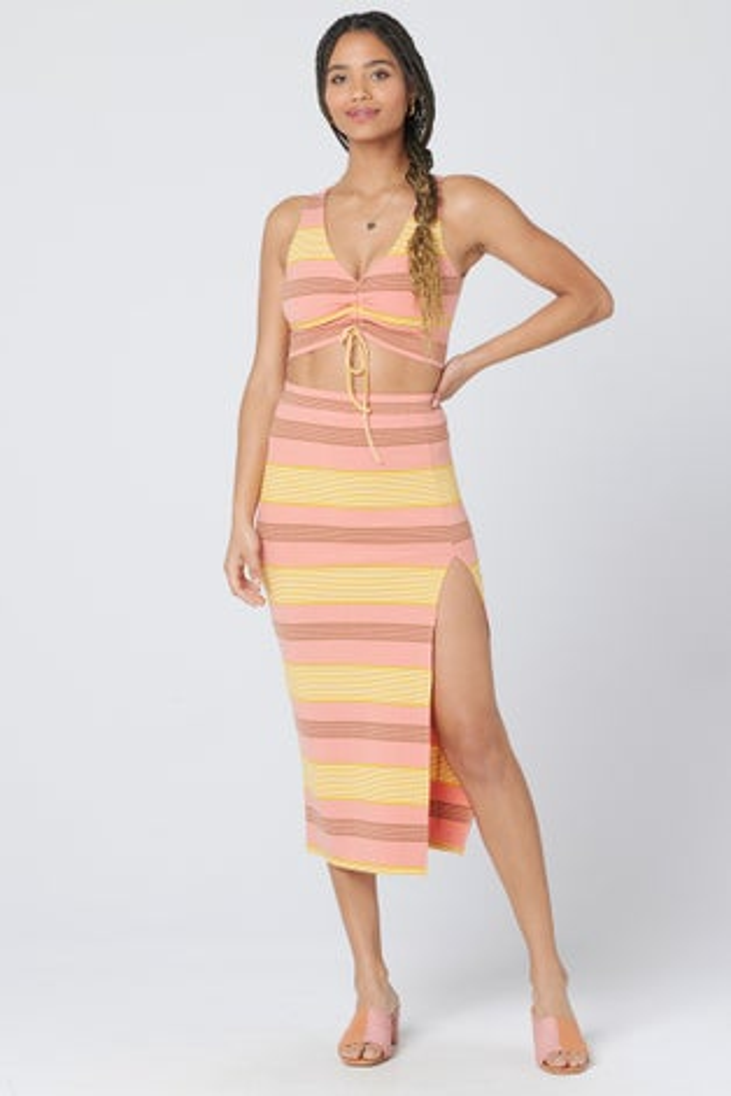 L*Space Beachy Keen Stripe Summer Daze Skirt