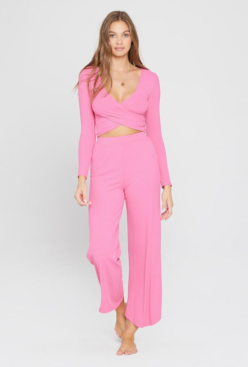 L*Space Bubblegum Pink Charlie Pant