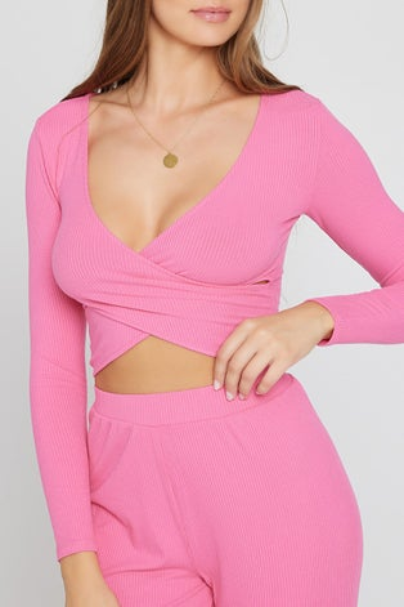 L*Space Bubblegum Pink Gia Top