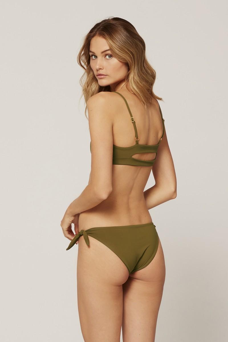 L*Space Caruso Bikini Bottom in Moss