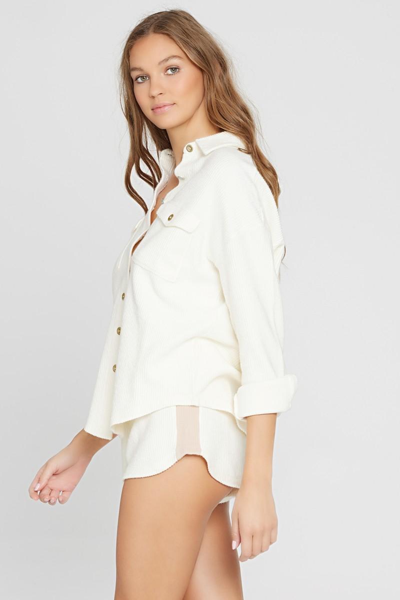L*Space Cream Driftwood Shirt