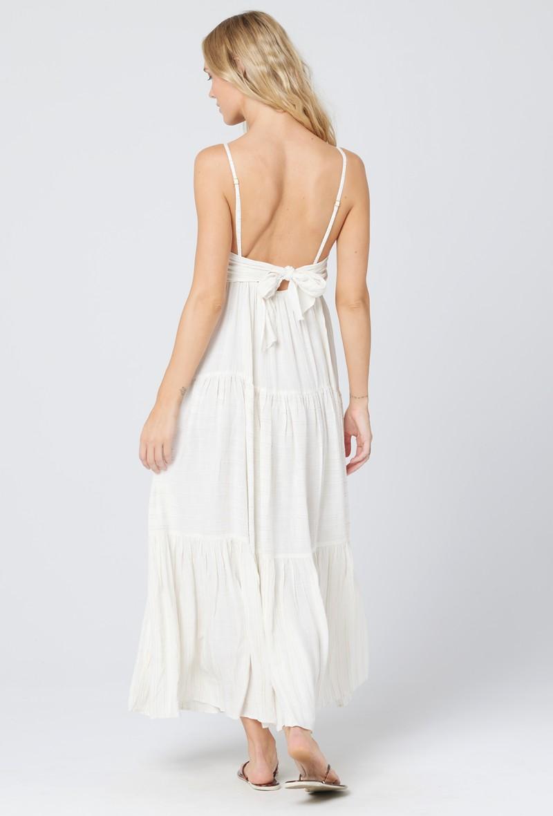 L*Space Cream Santorini Dress