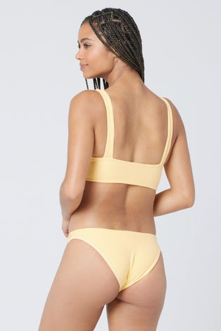 L*Space Eco Chic Repreve Golden Hour Fisher Top