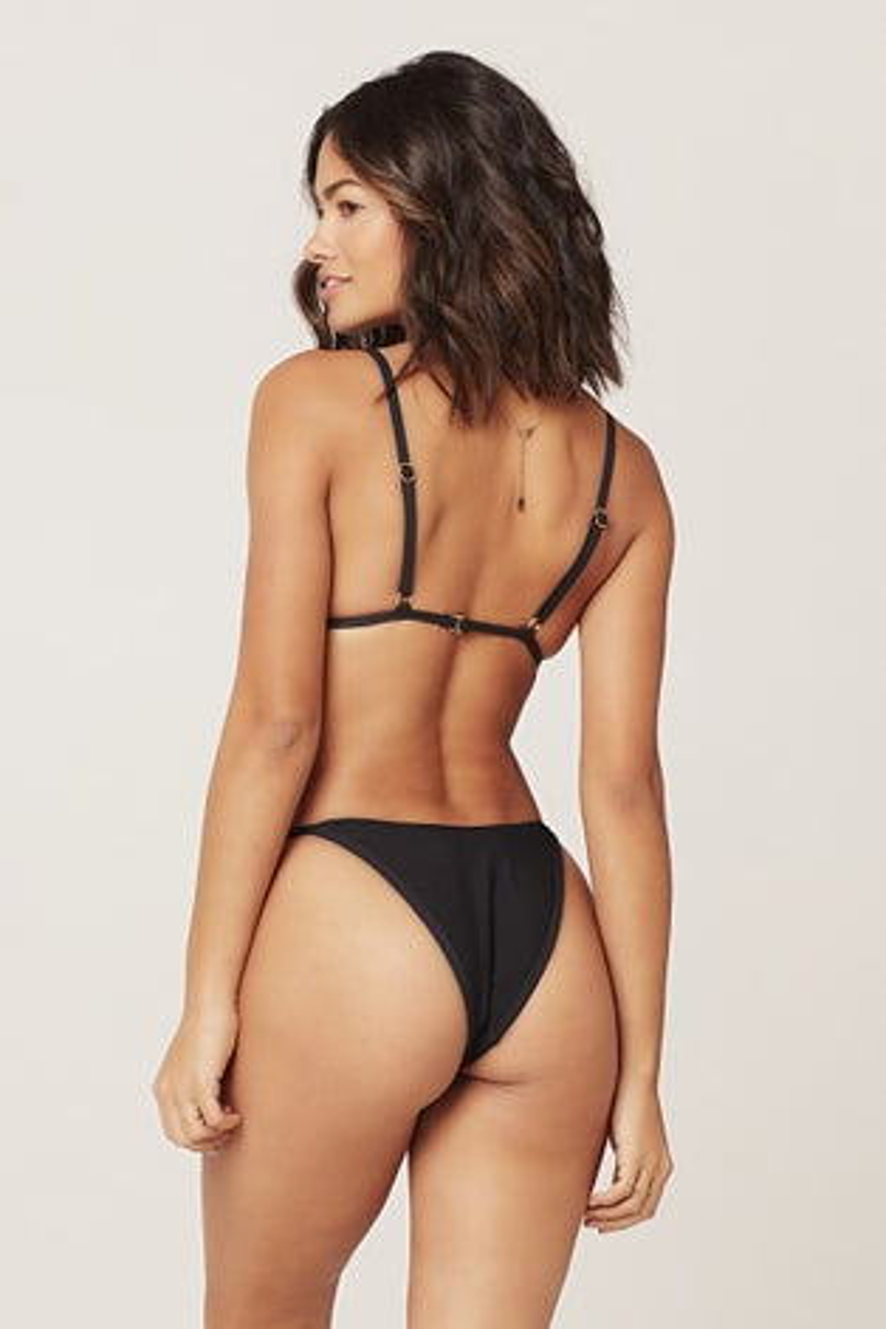 L*Space Ribbed Jay Bitsy Bikini Bottom