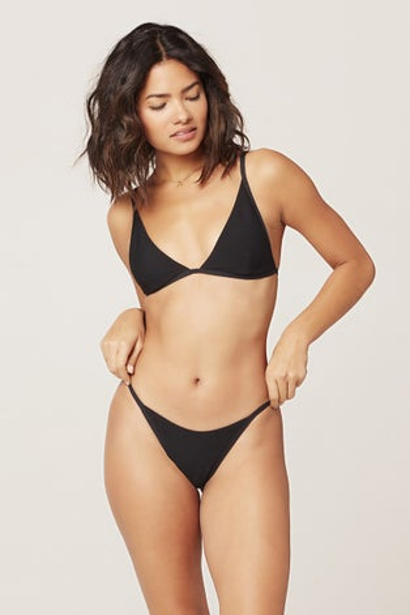L*Space Ribbed Millie Bikini Top