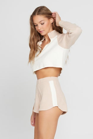 L*Space Sandstone Off Duty Short