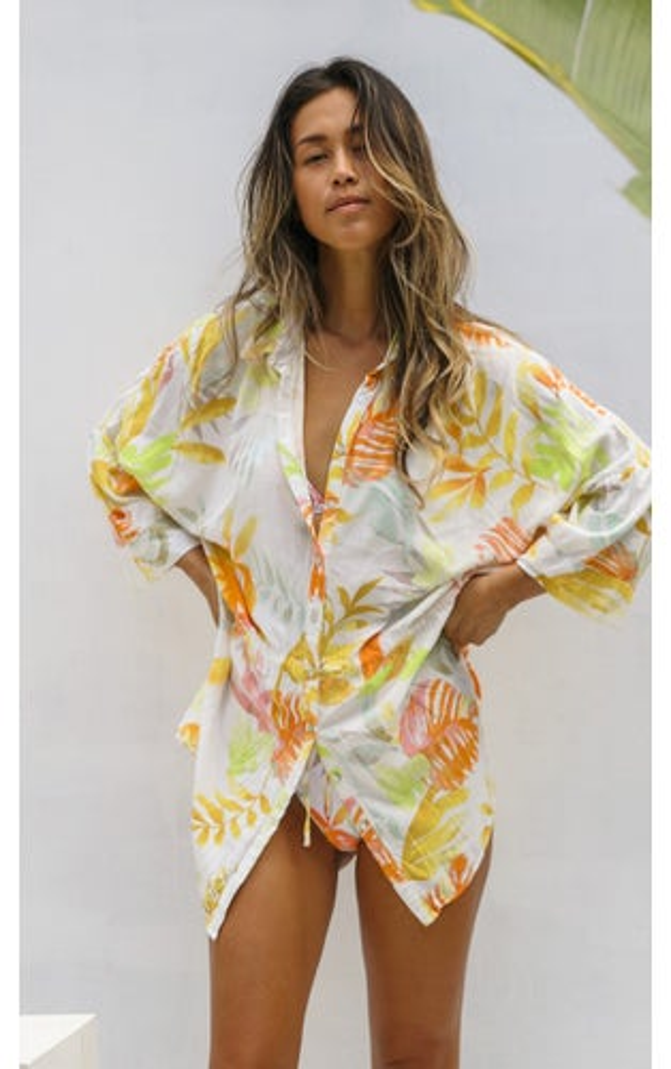 L*Space Summer Tropics Pacifica Tunic