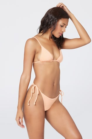 L*Space Tangy Terry Brittany Bikini Top