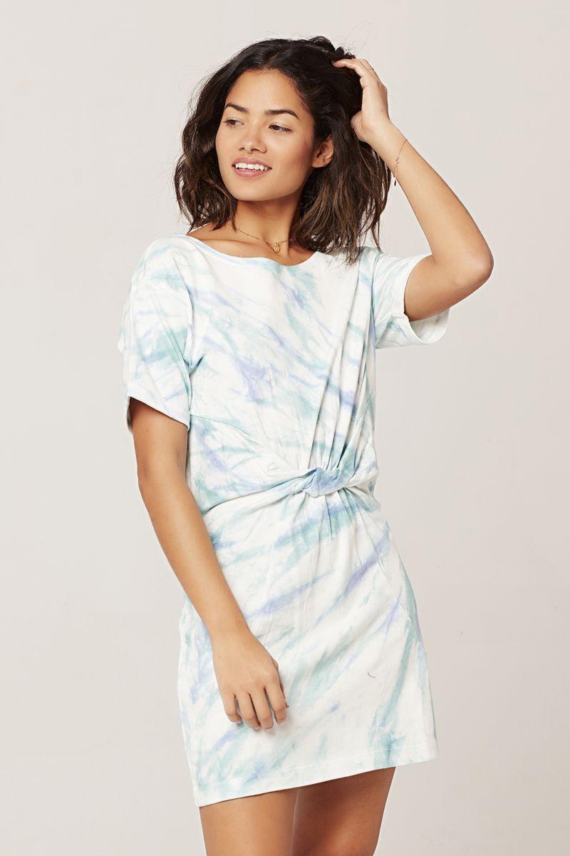L*Space Tidal Wave Beachwood Dress