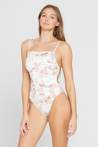 L*Space Tropical Sands Everly One Piece Swimsuit