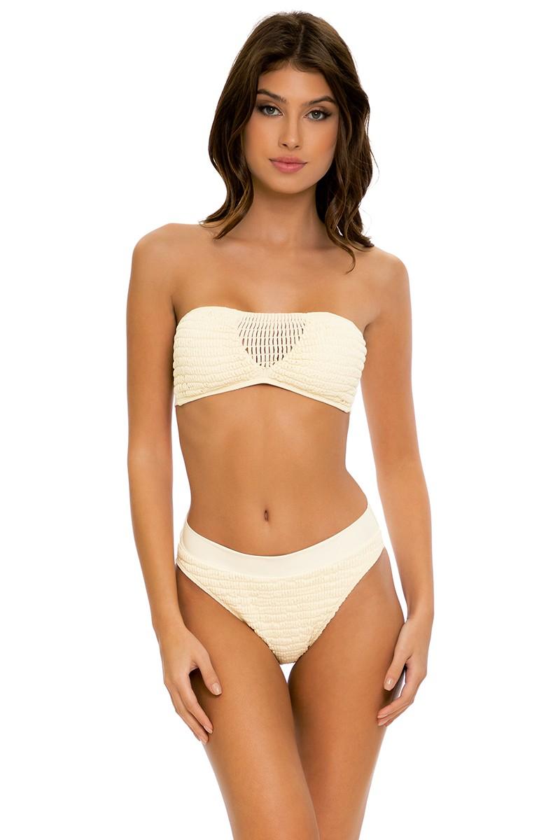 Luli Fama Desert Star Bandeau Bikini Top