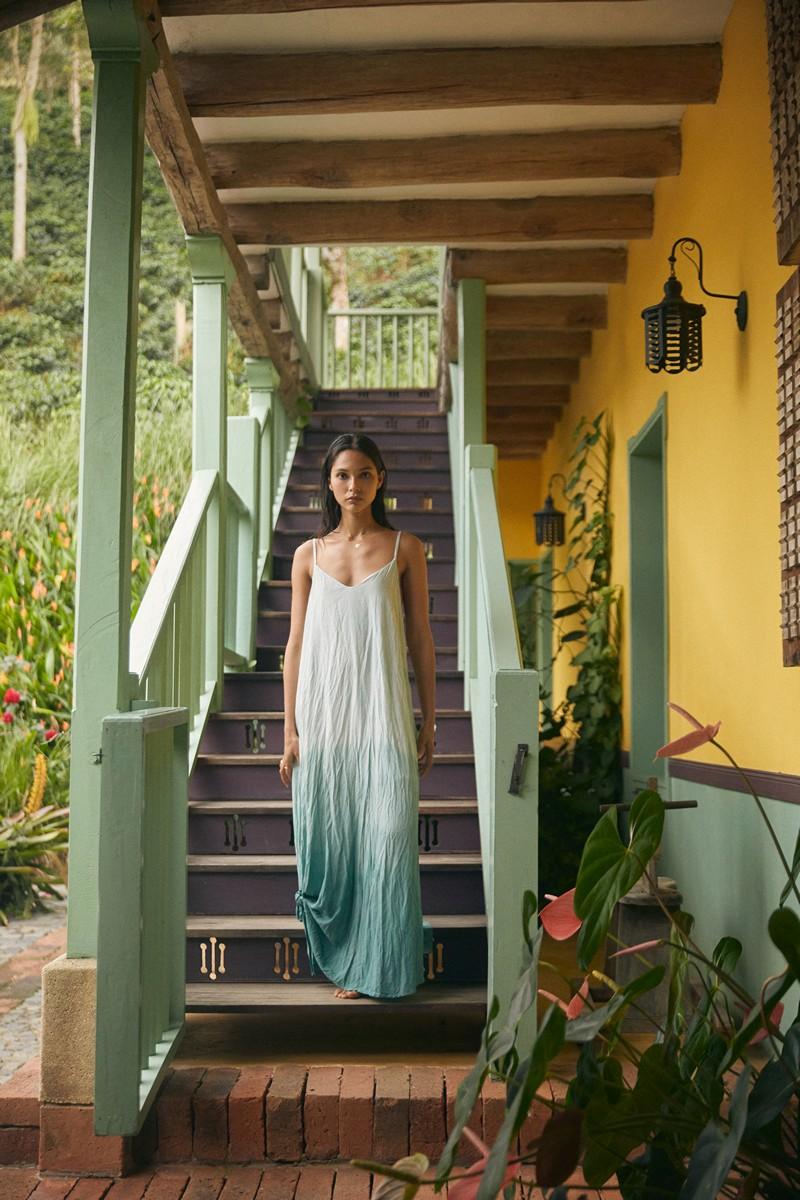 Malai Berly Lowlites Opera Maxi Dress