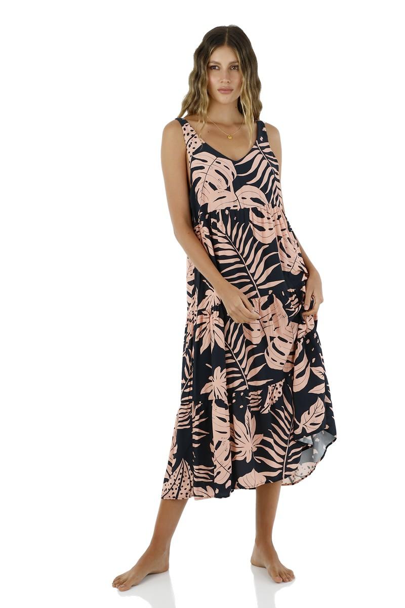 Malai Bio Nature Groovy Maxi Dress