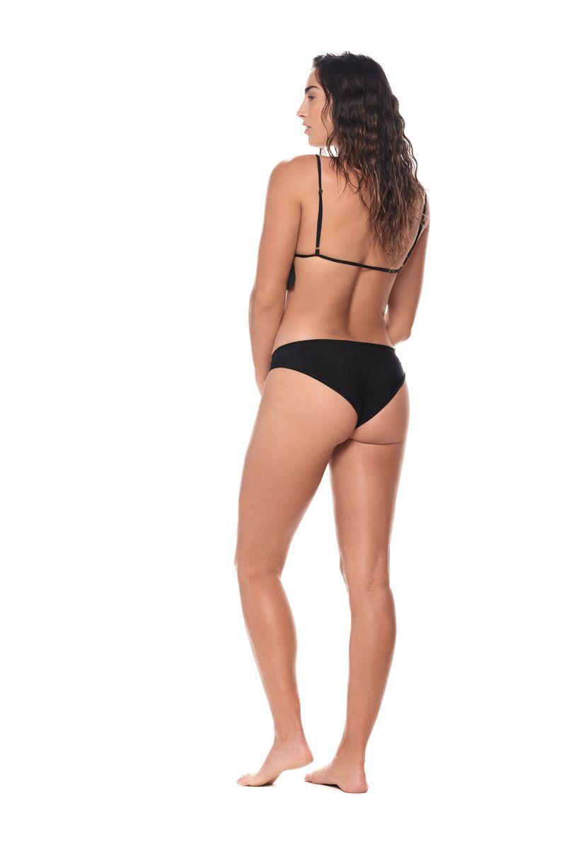 Malai Black Bahia Triangle Bikini Top