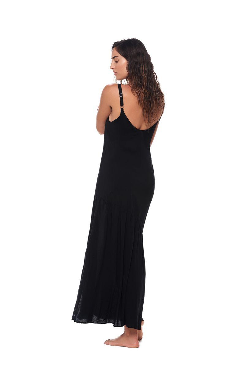 Malai Black Camelus Maxi Dress