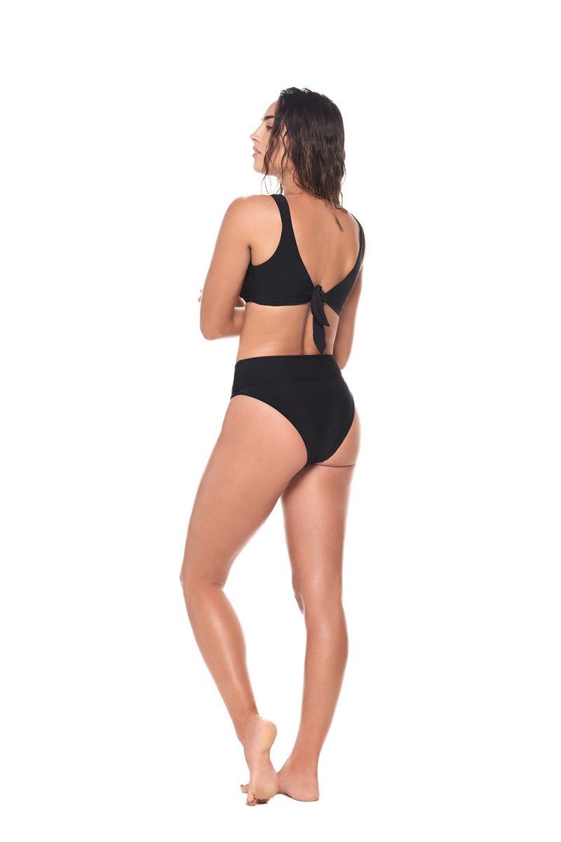 Malai Black Clear Line Bikini Bottom