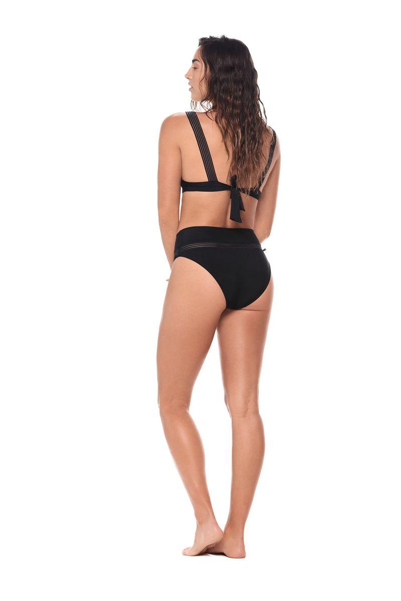 Malai Black Hella Cool Bikini Bottom