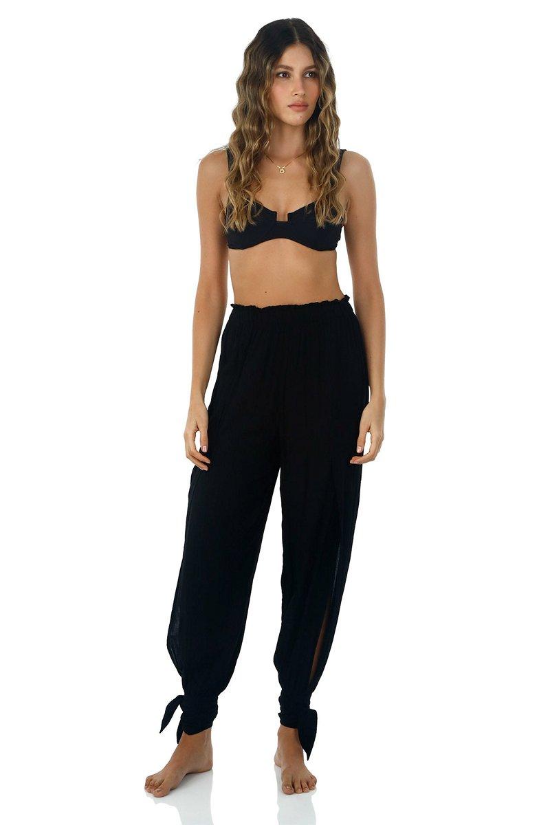 Malai Black Homy Pants