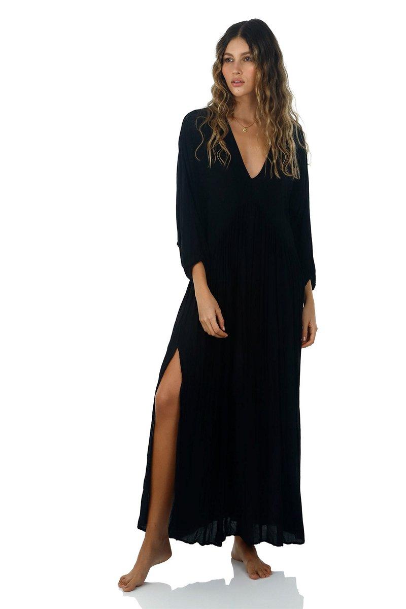 Malai Black Loner Maxi Dress