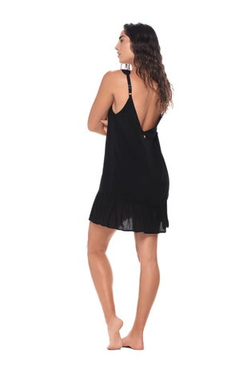 Malai Black Maggie Dress