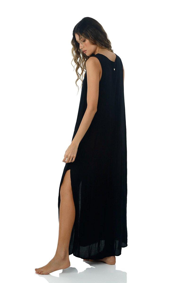 Malai Black Playa Maxi Dress