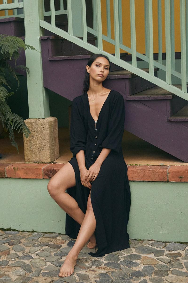 Malai Black Rhapsody Dress