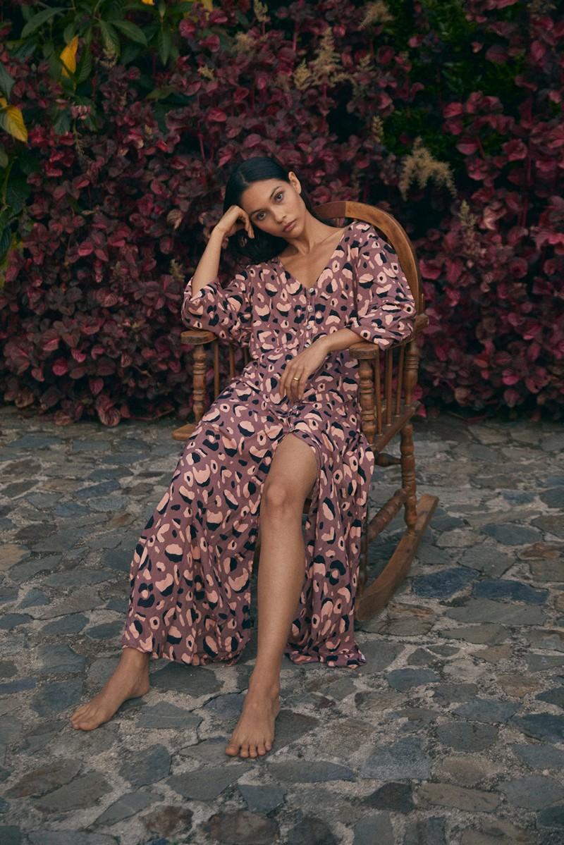 Malai Dark Africa Mia Rhapsody Dress