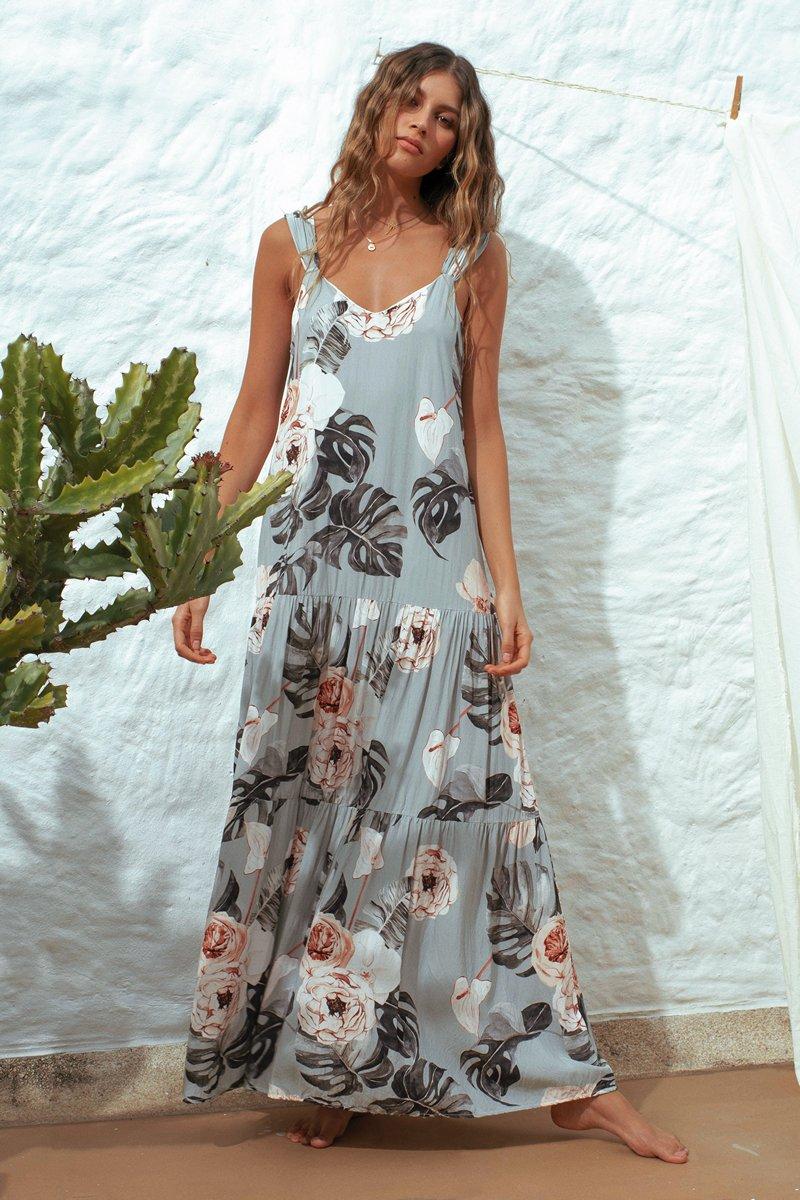 Malai Dharma Garden Maggie Maxi Dress