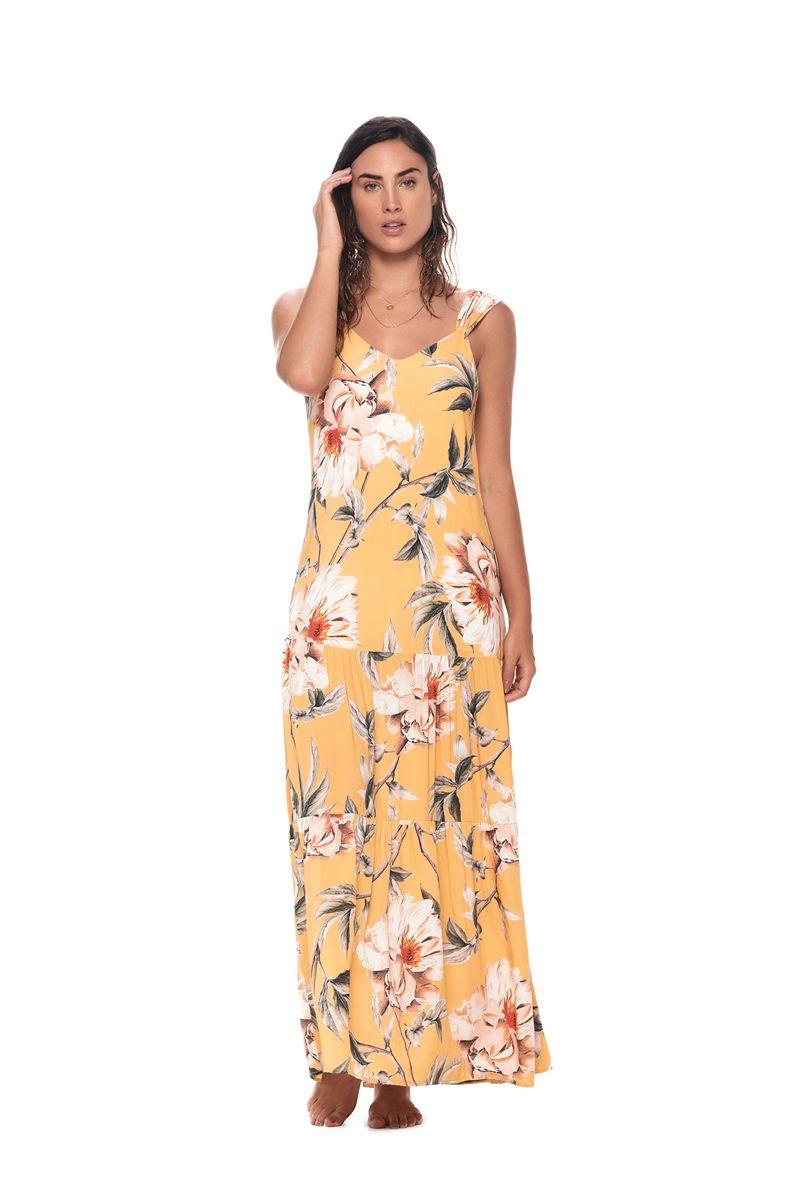 Malai Flower Flush Maggie Maxi Dress