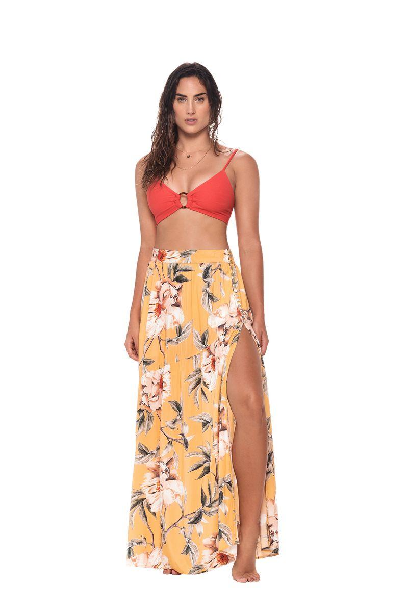 Malai Flower Flush Zambia Skirt