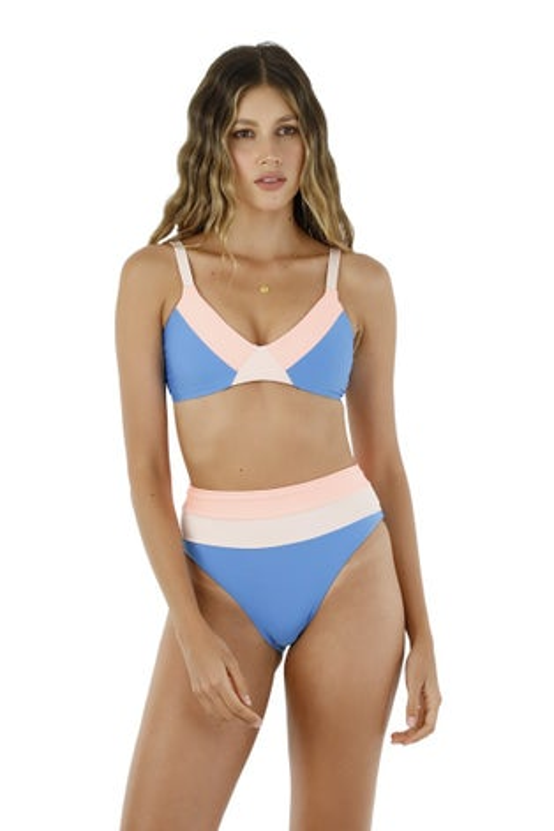 Malai Fluid Blue Callen Bikini Bottom