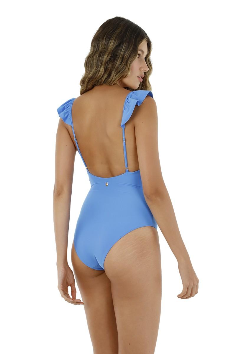 Malai Fluid Blue Gales One Piece Swimsuit