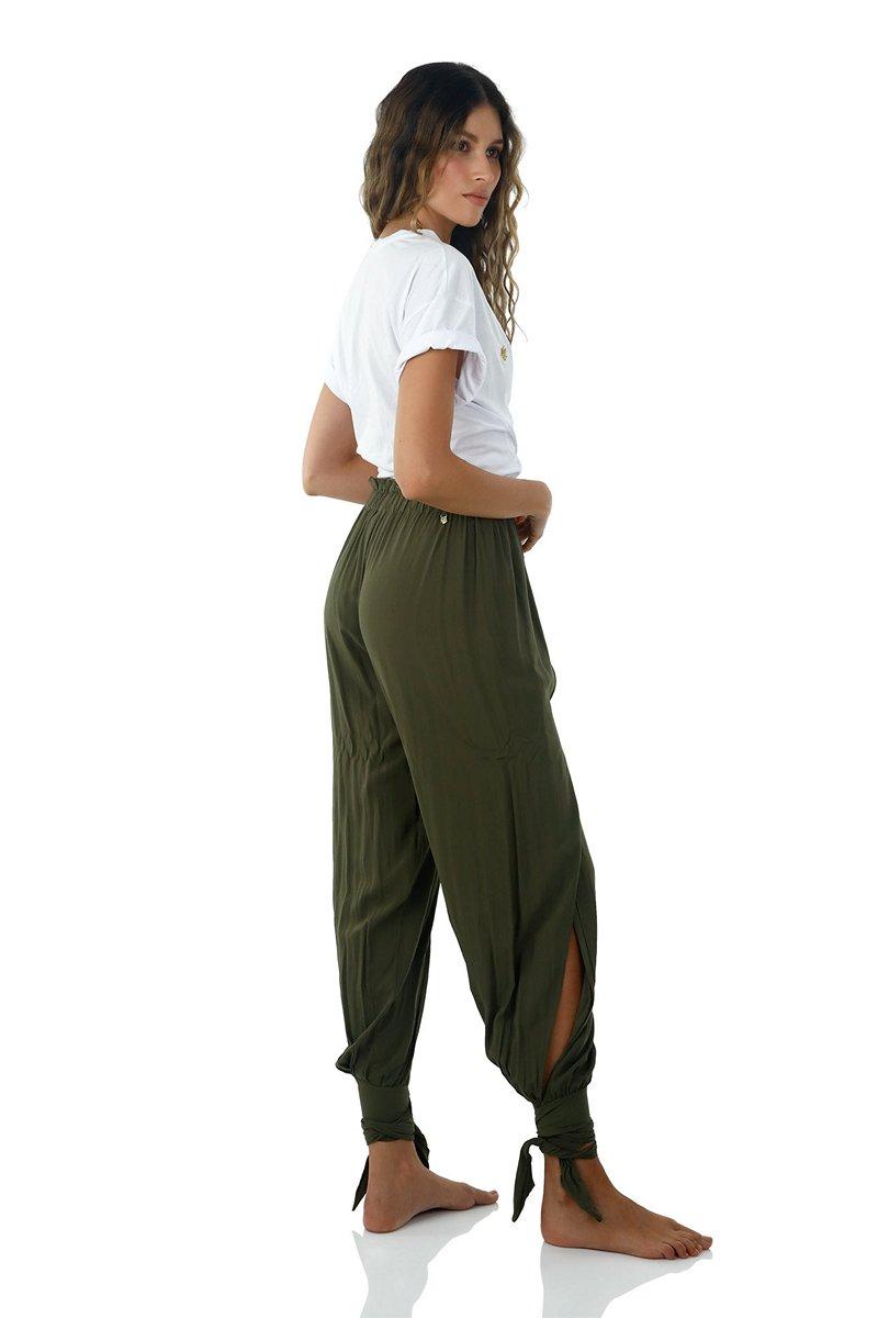 Malai Kale Green Homy Pants