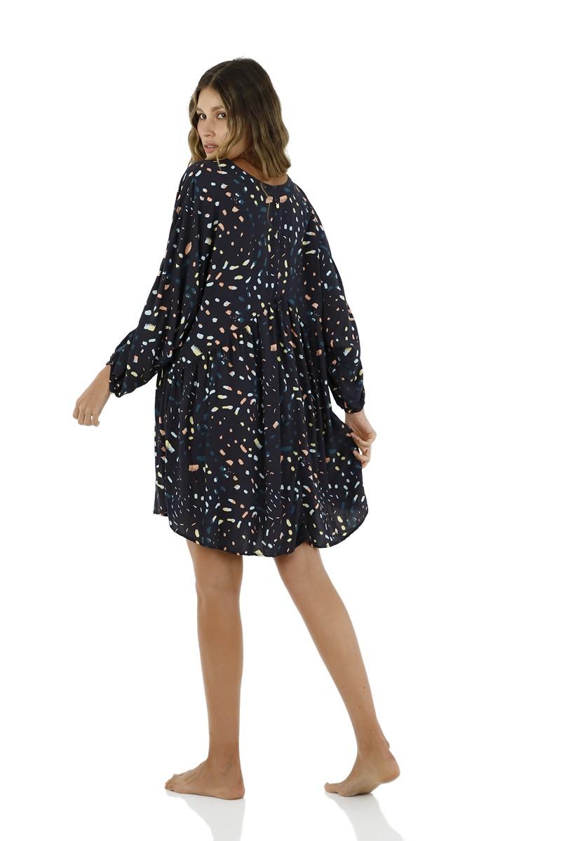 Malai Pompinjay Loner Dress
