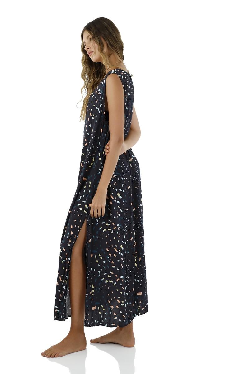 Malai Pompinjay Playa Maxi Dress