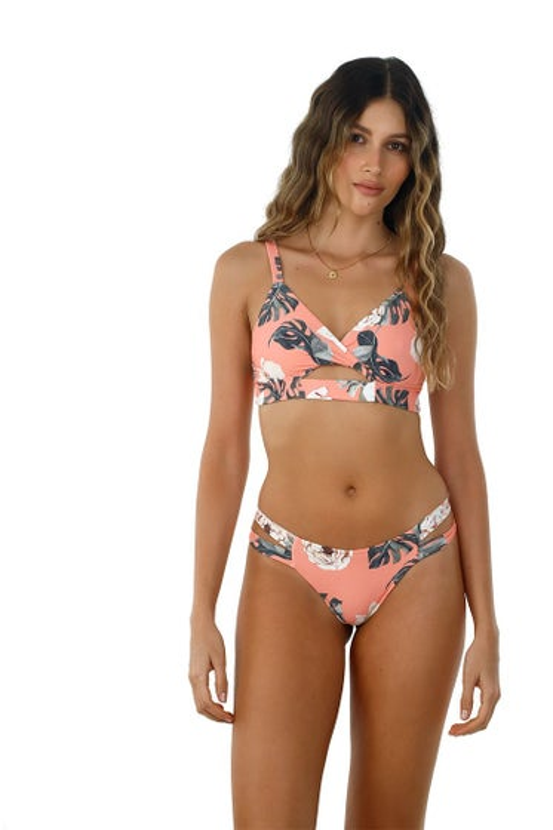 Malai Rose Dharma Garden Dana Bikini Top
