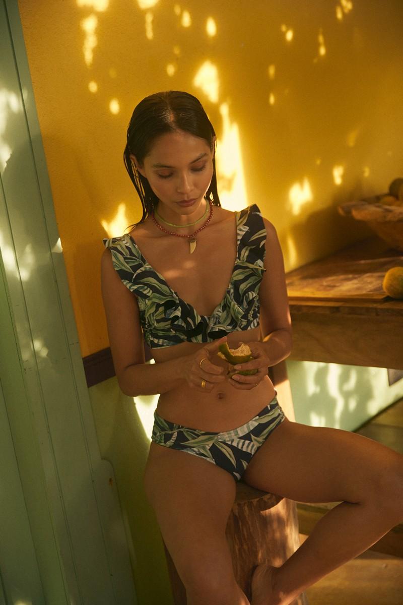 Malai Sea Leaf Balearic Bikini Top