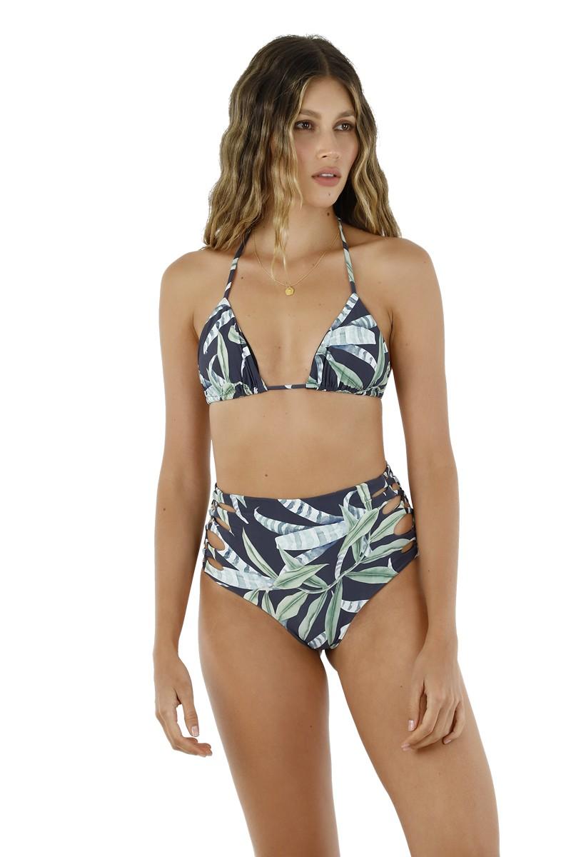 Malai Sea Leaf Basal Triangle Bikini Top