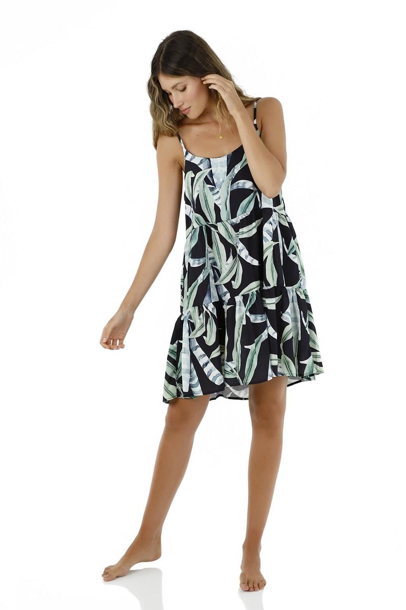 Malai Sea Leaf Canesu Dress
