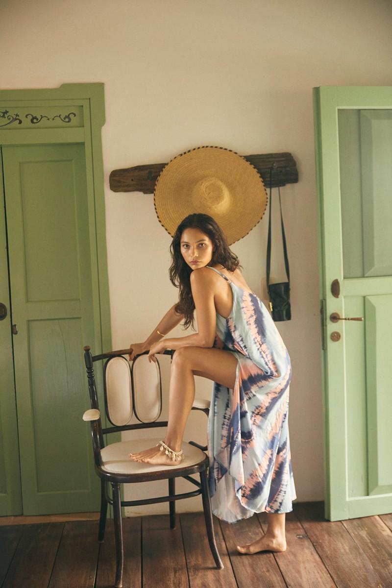Malai Sky Dye Opera Maxi Dress