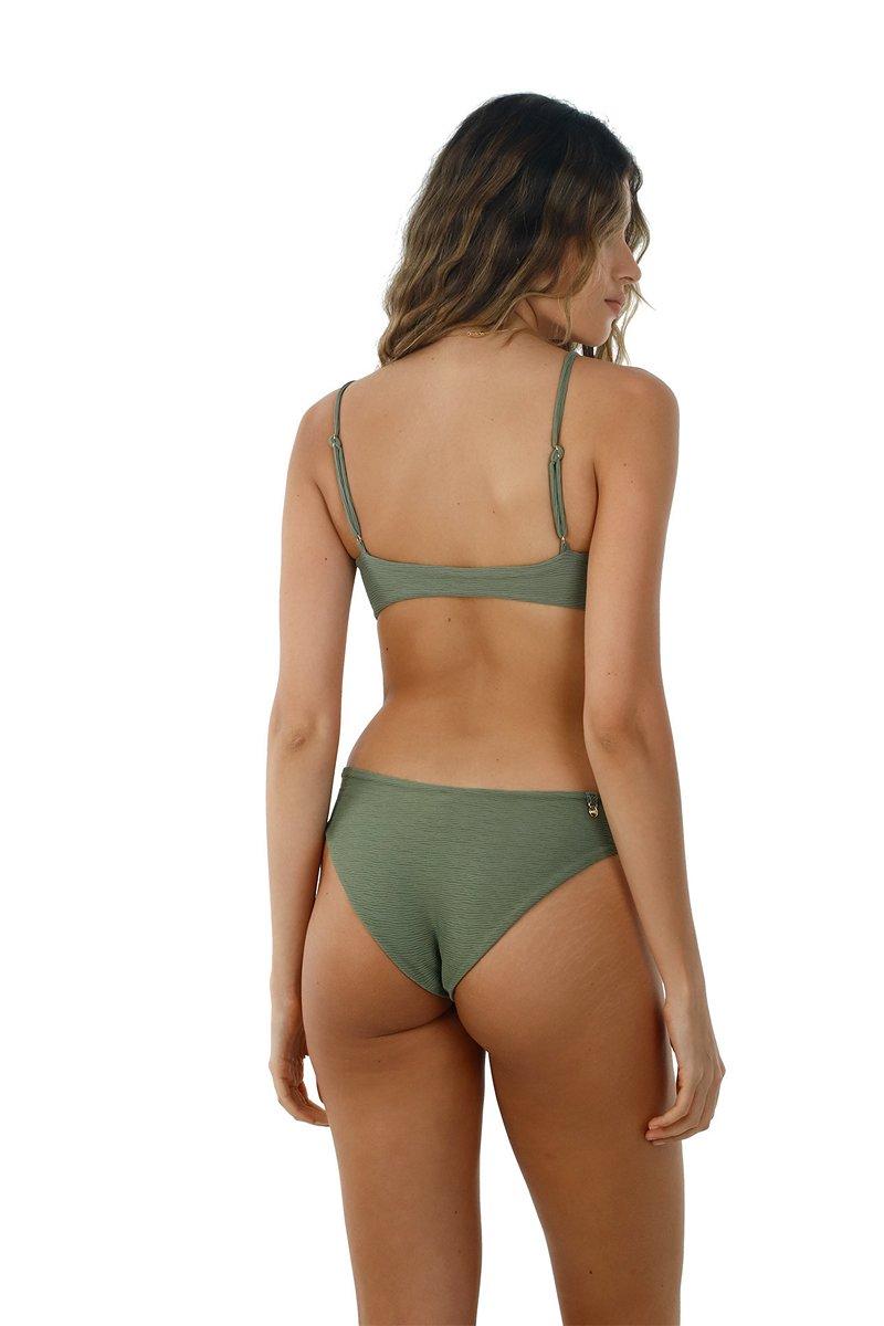 Malai Textured Kale Paramount Bikini Bottom