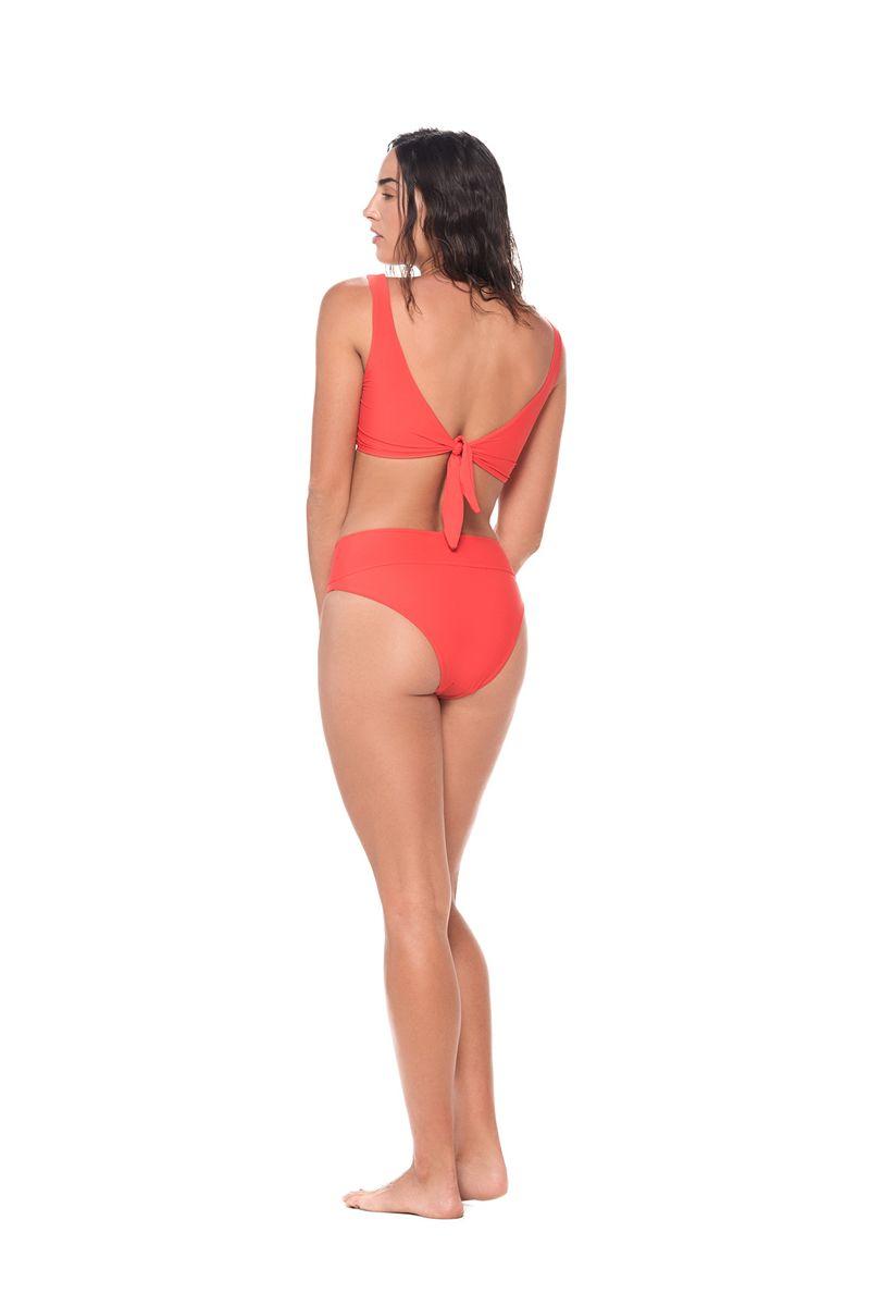 Malai  Morocco Red Hella Cool Bikini Bottom