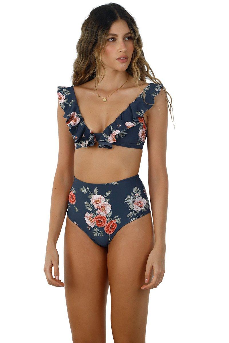 Malai Time To Bloom Balearic Bikini Top