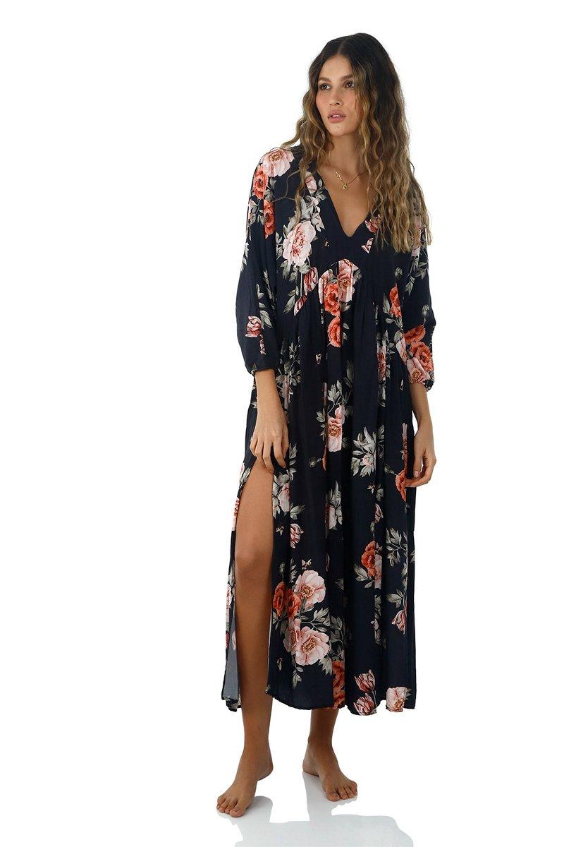 Malai Time To Bloom Loner Maxi Dress