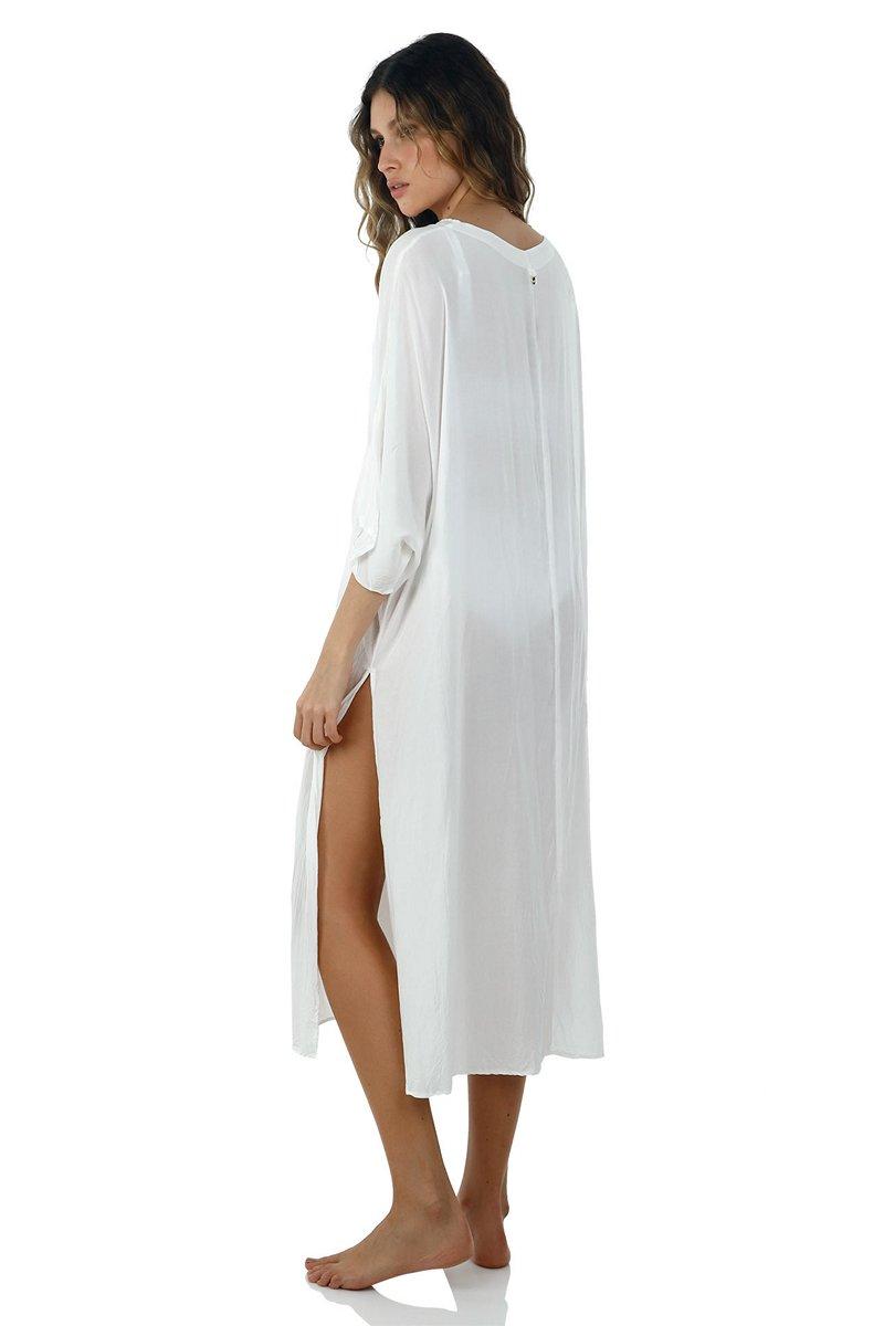 Malai White All Round Shirt