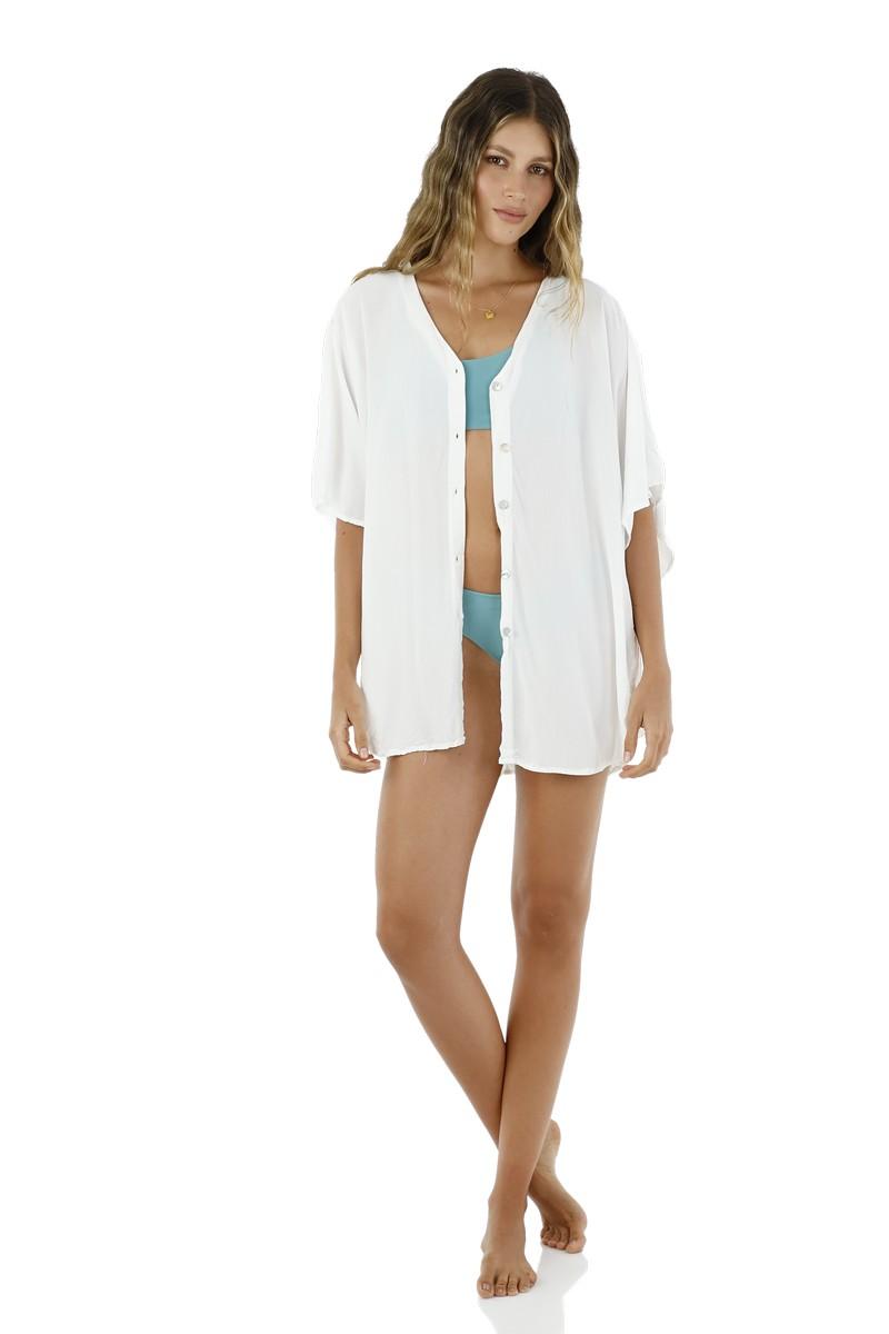 Malai White Bliss Shirt