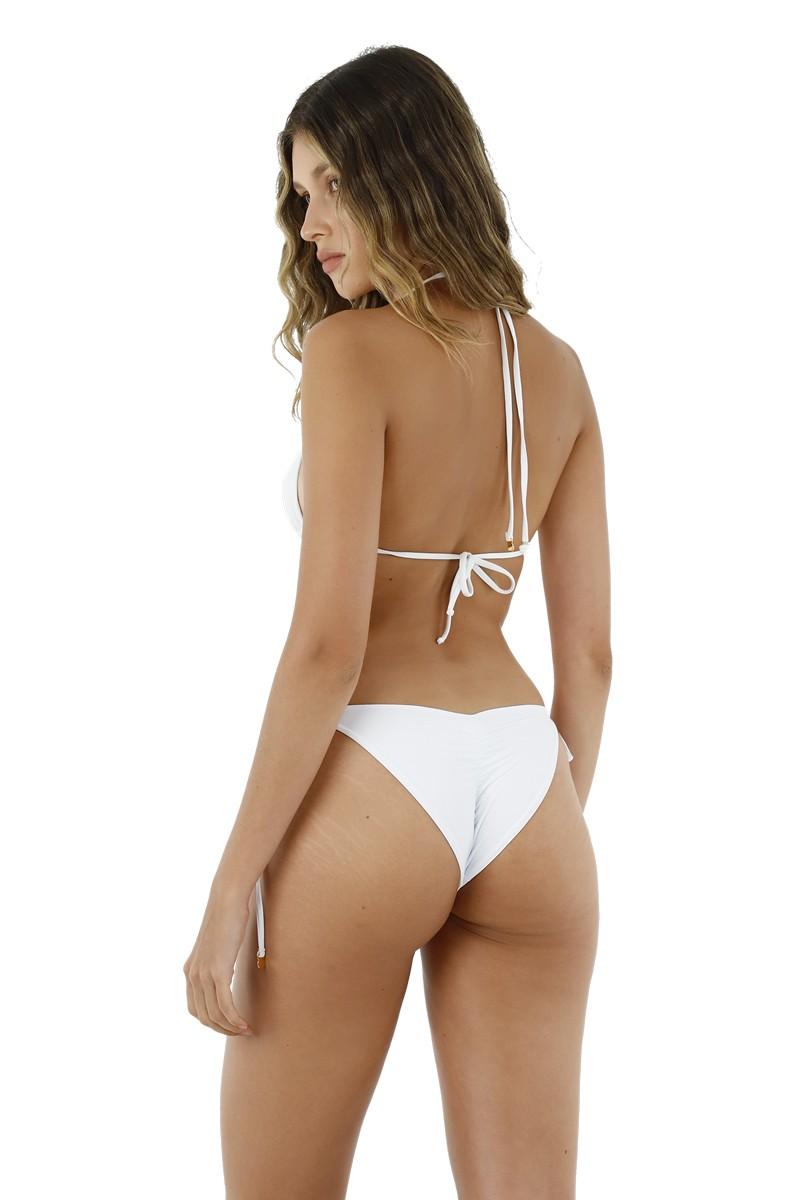 Malai White Dolly Bikini Bottom